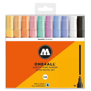 MOLOTOW™ ONE4ALL 227HS Pastel-Set   (10kpl)