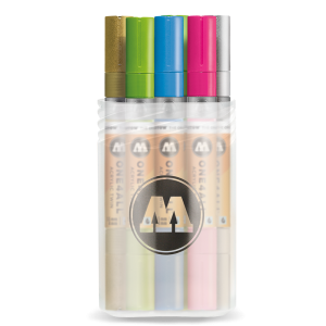MOLOTOW ONE4ALL™ ACRYLIC TWIN Main Kit  - 12 pcs. box
