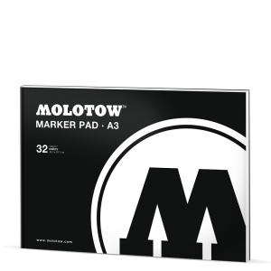 MOLOTOW BASIC MARKER PAD DIN A3