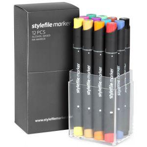 Stylefile 12 pcs set Main A