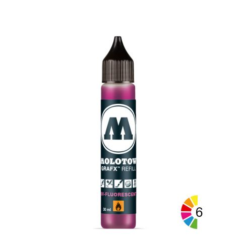 MOLOTOW GRAFX UV-Fluorescent Refill 30ml