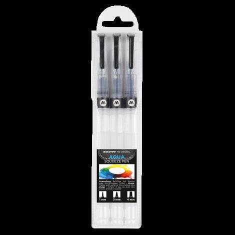 MOLOTOW AQUA Squeeze Pen Basic-Set 1