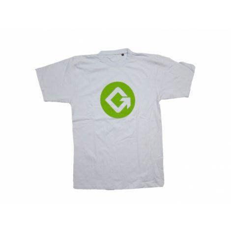 Geezers G-logo t-paita valkoinen