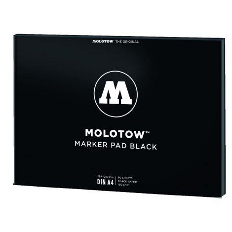 MOLOTOW BASIC BLACK PAD DIN A4