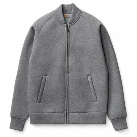 Carhartt Car-Lux Bomber Jacket dark grey heather