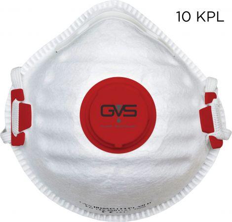 GVS FFP3 NR D hiukkassuojain 10kpl laatikko