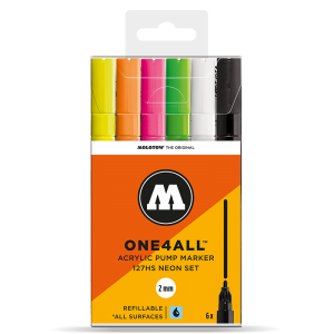 MOLOTOW ONE4ALL 127HS Neon-Set