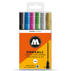 MOLOTOW ONE4ALL 127HS Metallic-Set