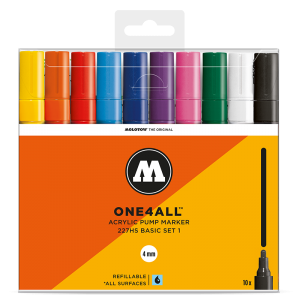 MOLOTOW™ ONE4ALL 227HS Basic-Set 1 (10kpl)