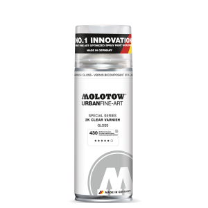 Molotow Urban Fine-Art 2K Clear Varnish gloss 400ml