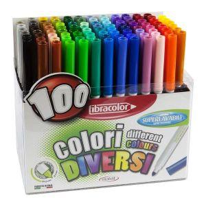 Fibracolor Fiber Pen 100set