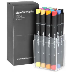 Stylefile 12 pcs set Main A