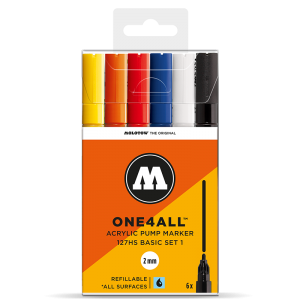 MOLOTOW ONE4ALL 127HS Basic-Set 1