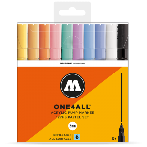 MOLOTOW ONE4ALL 127HS Pastel-Set - 10kpl