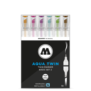 MOLOTOW AQUA TWIN Basic-Set 2