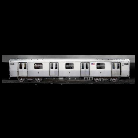 3D Poster NYC Train pieni