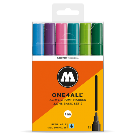 MOLOTOW ONE4ALL 227HS Basic-Set 2