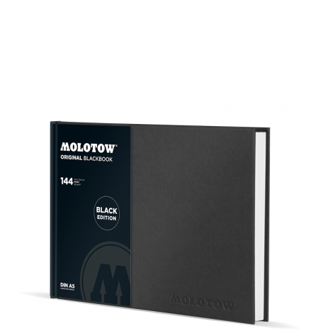 Molotow  Blackbook DIN A4 vaakataso