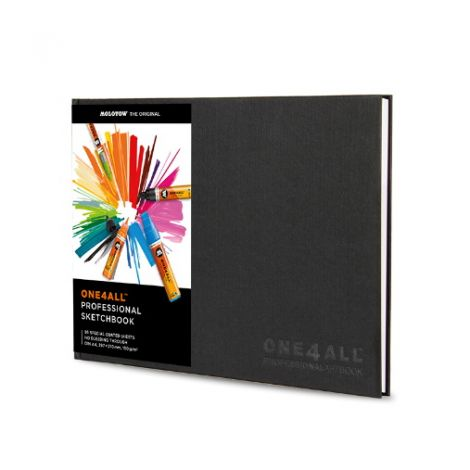 Molotow ONE4ALL Professional Sketchbook DIN A4