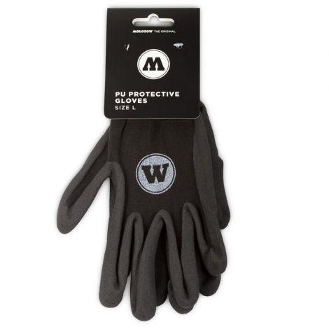 Molotow PU protective gloves L-koko